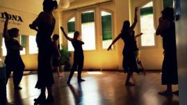 Choreographing at Tribal Art Festival, Barcelona